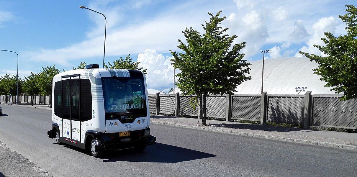 Q6wymkvdhxs В Хельсинки начнут ходить беспилотные миниавтобусы