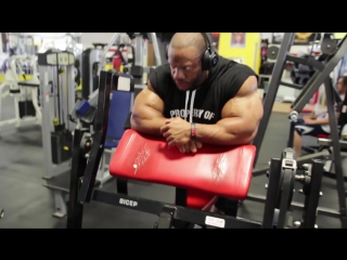 Final pre-Olympia training Back Biceps RAW 720p.mp4
