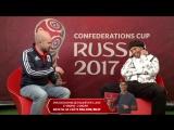 #VKLive_ Роналдиньо в прямом эфире ответил на вопросы пользователей ВКонтакте
