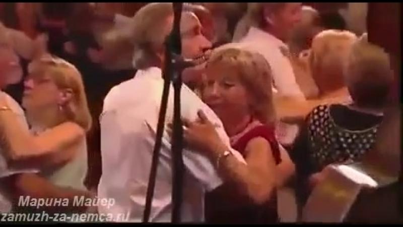 ♥♥НЕОБЫЧНОЕ ИСПОЛНЕНИЕ ПЕСНИ МИЛЛИОН АЛЫХ РОЗ на французском языке-Проект Замуж за немца