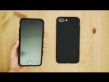 Чудовий чохол Spigen Liquid Air for iPhone 7 and 7 Plus #заходьнаяблуко
