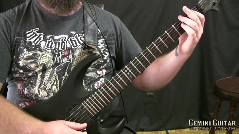 Gemini Guitar - Drop D Riffing (2015)