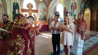венчание Олеси и Михаила