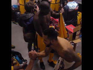 Great gesture from Walcott in the Sutton dressing room!