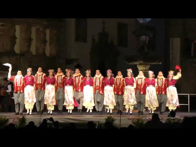 Turkish traditional folk dance Gaziantep Yarim kaba
