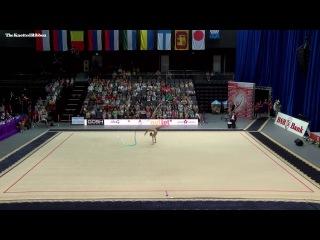 Aleksandra Soldatova ribbon AA 2017 Minsk World Challenge