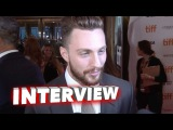 Nocturnal Animals Aaron Taylor Johnson Exclusive Interview TIFF Premiere (2016)