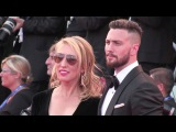 Aaron Taylor-Johnson and his wife attend the Premiere of Nocturnal Animals in Venice