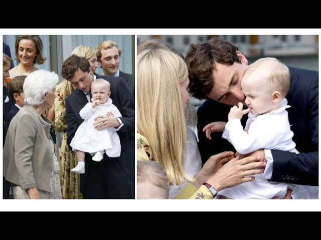 Baby Anna Astrid and Belgium's Royals Celebrate an Early Birthday for Queen Paola