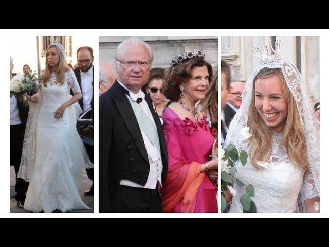 Swedish Royal attended Astrid Bernadotte and Marquese Filippo Bruti Liberati Wedding