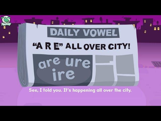 Nessy Reading Strategy: Vowel r e