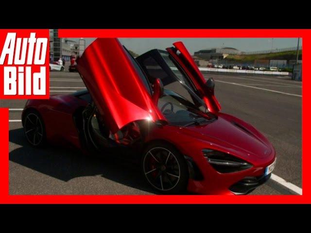 McLaren 720S Sitzprobe (2017) - Der Windkanal-Sportler /Review/Test/Sitzprobe