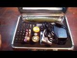 054.Универсальный мини-гравер в кейсе - WLXY P - 800 High Speed Rotary Tool Kit Fits