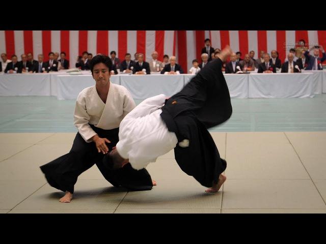 Aikido Ueshiba Mitsuteru 55th All Japan Aikido Demonstration 2017