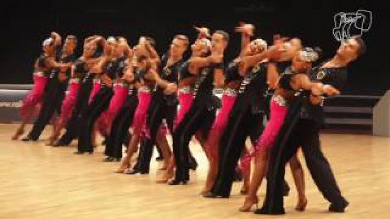 Grün Gold Club Bremen GER 2016 World Formation Latin DanceSport Total