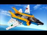 Обзор на набор LEGO Creator | Криэйтор 31042 (Реактивный самолет)
