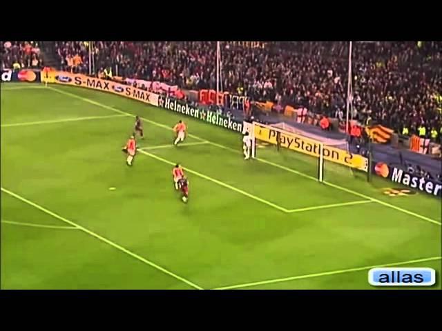 Iniesta vs Benfica 2006 YouTube