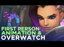 How Overwatch Animation Conveys Character in First Person Extra Frames