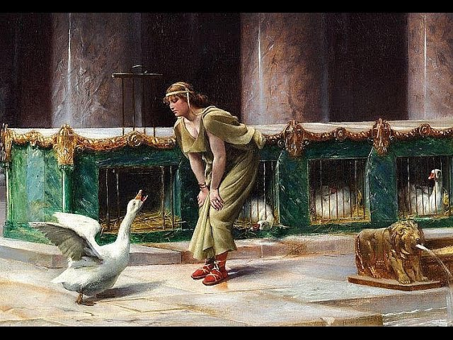 Ни одна собака не услыхала: миф о гусях и спасении Рима