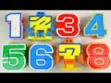 123 Number robot transformers toy