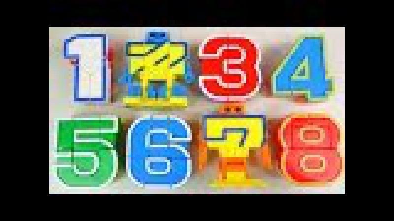 123 Number robot transformers toy 숫자 변신로봇 장난감