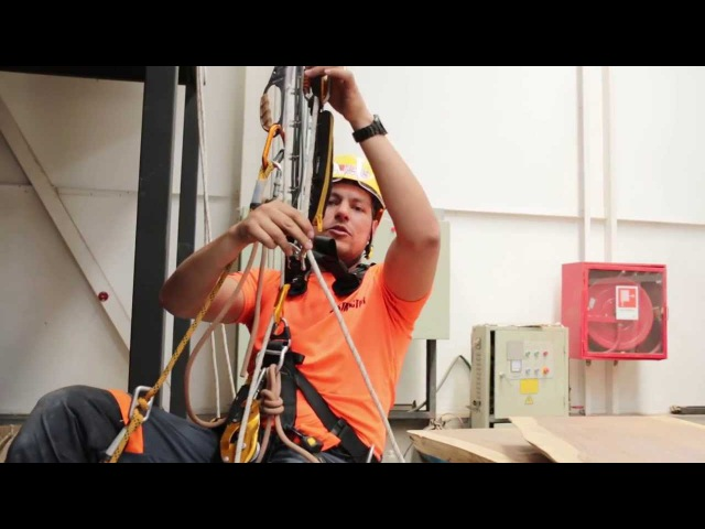 Acceso con Cuerdas: Progresión simple en Ascenso (Escuela Vertical)