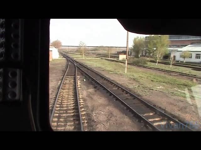РЖД - КТЖ на тепловозе 2ТЭ10У