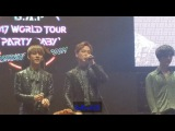 170409 B.A.P World Tour 2017 Party Baby in D.CTalk+Wake Me Up