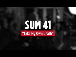SUM 41 'Fake My Own Death' Live Acoustic - 2016
