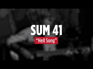 SUM 41 'Hell Song' Live Acoustic - 2016
