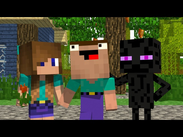 Noob and Brothers Season 1 - Minecraft Animation