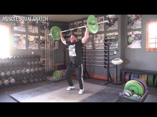 Muscle Squat Snatch - Olympic Weightlifting Exercise Library - Catalyst Athletics