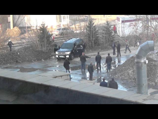 Покушение Расстрел Нападение Новосибирск Убийство нападение на джип В Новосибирске расстрелян джип