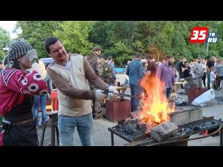 Город кузнецов Устюжна в минувшие выходные отметил свой 765-й юбилей