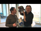 #Transformers: The Last Knight's Peter Cullen and Frank Welker