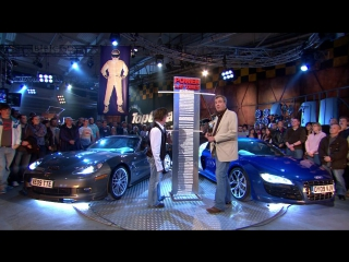 Audi R8 V10 (2008) vs Chevrolet Corvette C6 ZR1 (2008) [Top Gear S14E02]