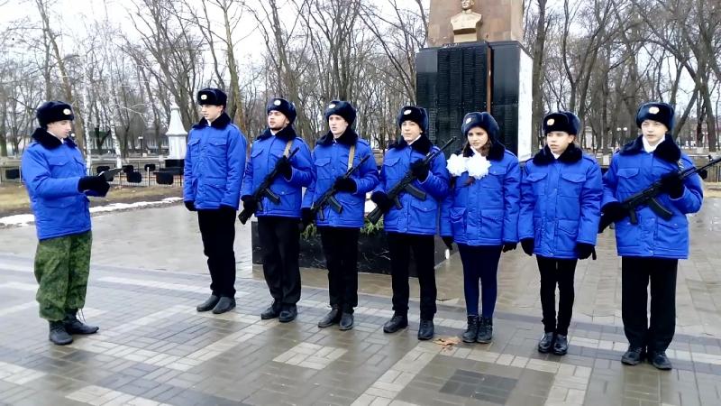 Торжественная клятва участников Почетного караула перед заступлением на Пост № 1