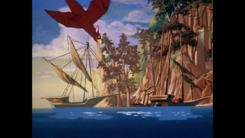 Пираты темной воды! 1 сезон 3 серия!