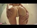 Японка трясет упругой жопой в душе [ крутит попой попка сексуальная мокрая киска задница на вебку вебкам снимает трусы секс]