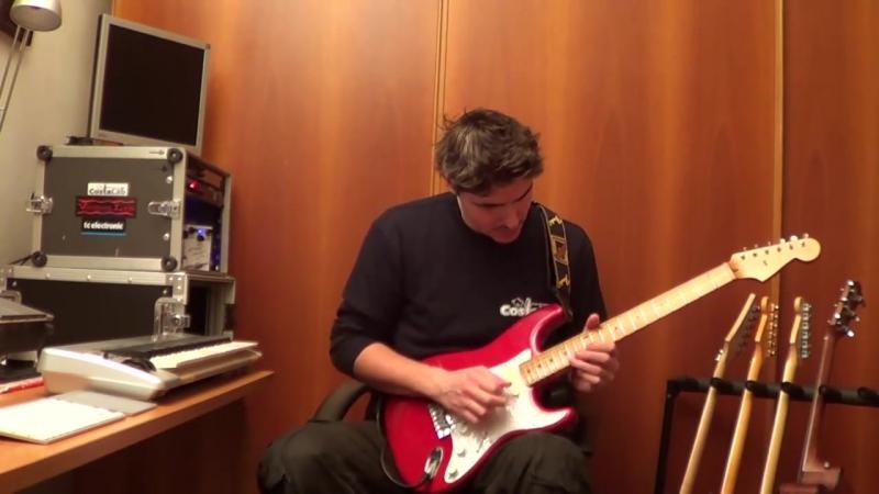 Pink Floyd Marooned - played by Edoardo Scordo .