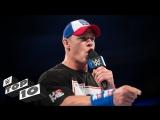 [WWE QTV]☆[Top 10]John Cenas best verbal smackdowns]Топ 10[Лучшие словесные перепалки Джона Сины]