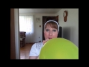 SugarSweetz - Blowing up a Punch Balloon and Popping it