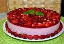 Землянично-творожный десерт