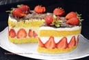 Клубничный торт Фрезье(Fraisier)