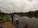 Бешеный клёв на рыбалке.