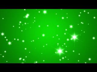 Green Screen Animation Sparkle Glitter Shine Lights footage effect _ Футаж хрома