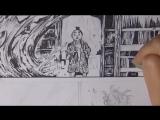 Vagabond - Drawing a Manga Page #8