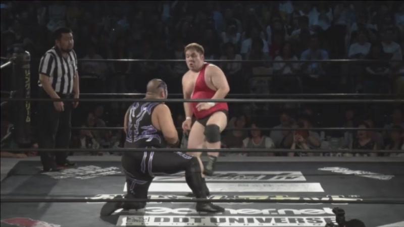 Antonio Honda vs. Mad Paulie (DDT - Beer Garden Fight 2017 ~ DDT Day ~)