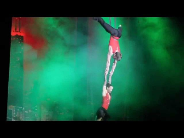 Студвесна 2014 - Гала-концерт - Цирковой номер студии «Икар» Ксения Н. (ТюмГНГУ, ИМиБ)