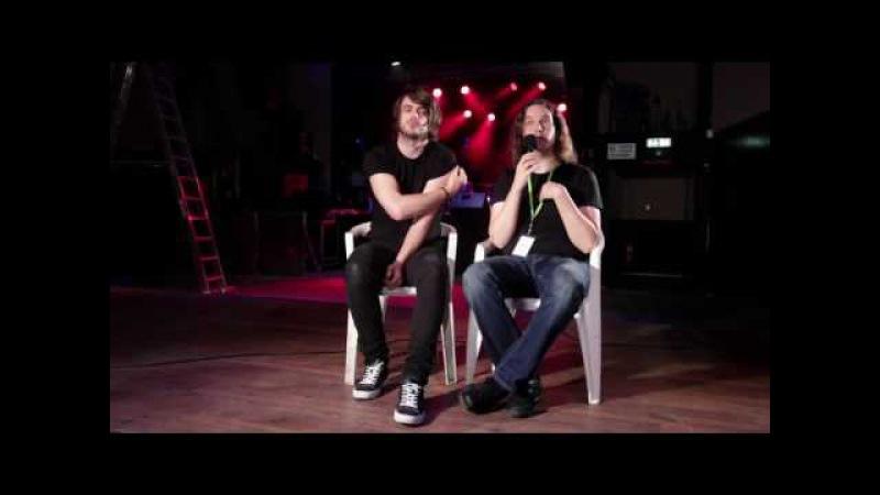 Джейми Дин и Торстен Кинселла (God Is An Astronaut) в Берлине - 27.09.13